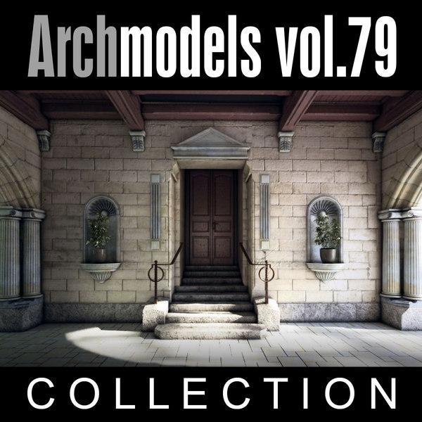 3d archmodels vol 79