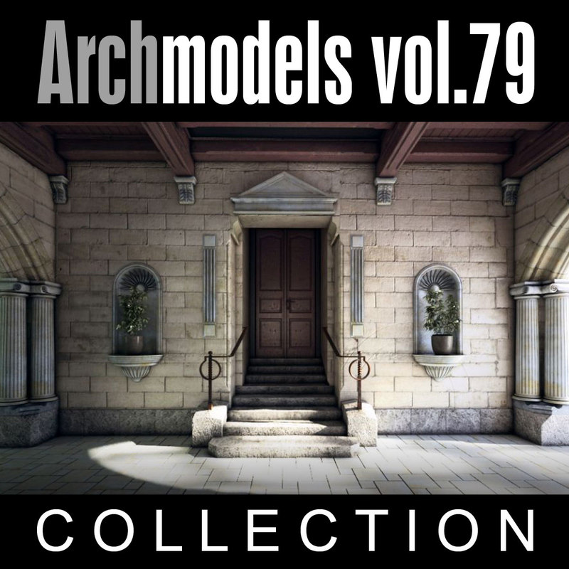 3d archmodels vol 79