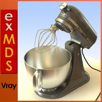 Food Mixer/Blender (vray)