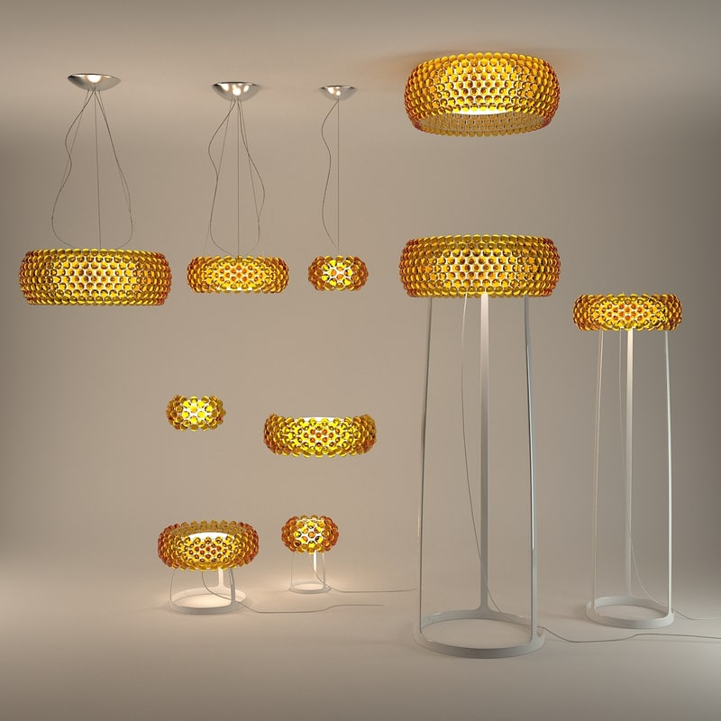 foscarini caboche lamp 3d 3ds