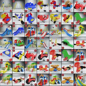 3d playgrounds v6 model