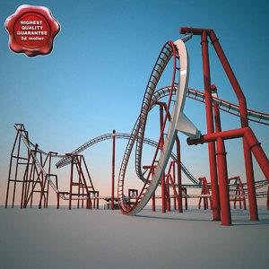 roller coaster 3d max