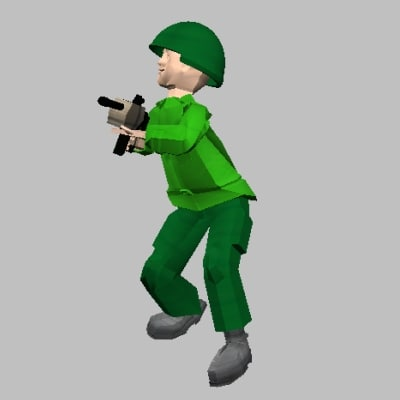 shootersoldier obj free