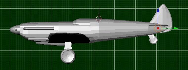 free spitfire 3d model