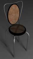 bistro chair 3d model