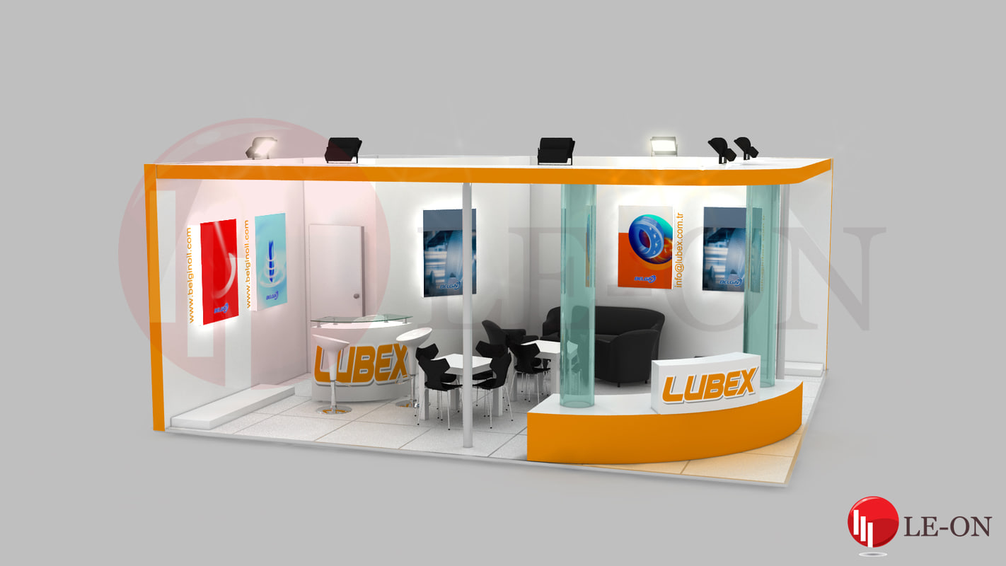 belgin exhibition design 3d max
