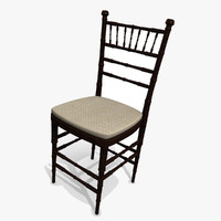 3d dining room table chair model
