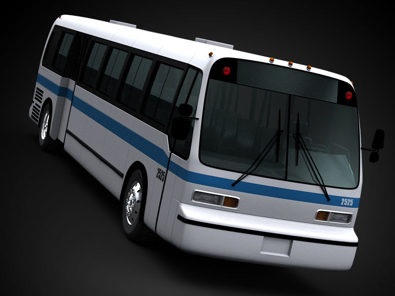 3ds max bus gmc rts