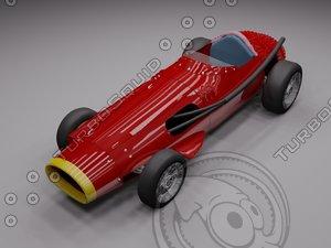 3d model maserati 250f