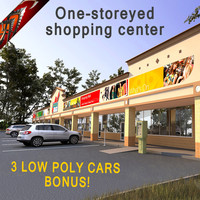 max one-storeyed building shopping center