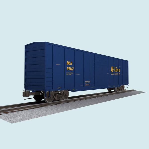 train car 3d max