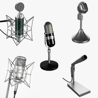 5 Microphones Set