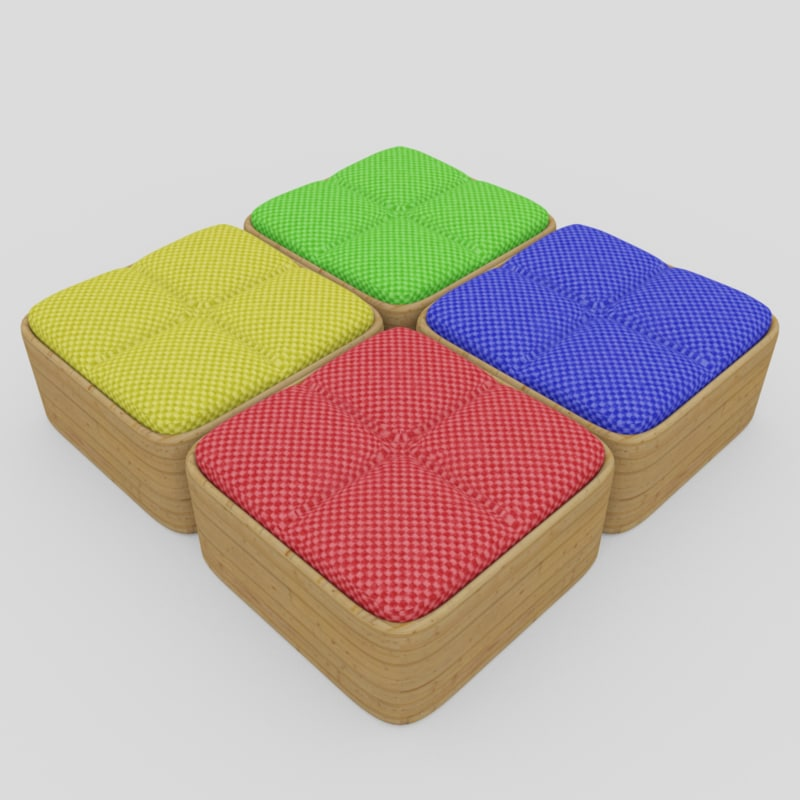 3d seating colors model
