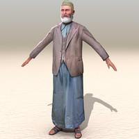 3dsmax arab afghani casual 08