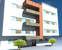 3ds max residencial building