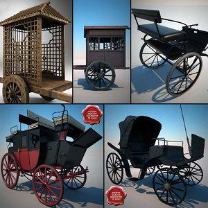 maya carriages v4