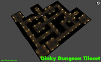 Dinky Dungeon Tileset (commercial)