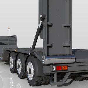 3ds trailer unpowered vehicle