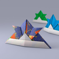 Japanese Papercraft Hat (ORIGAMI)
