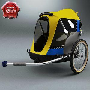 pet bicycle trailer max
