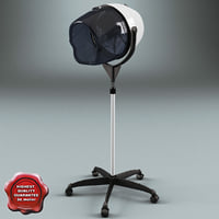 Salon Stand Hair Dryer V2