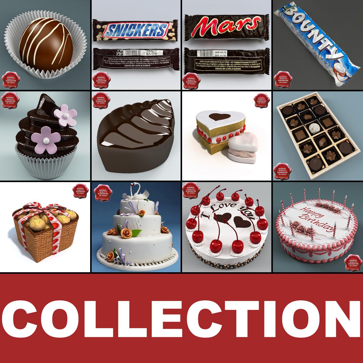 c4d sweets set chocolate