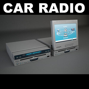 car 2 3d max