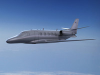 3d learjet citation excel