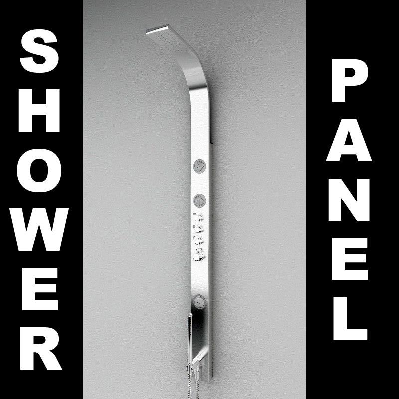 shower hose 3d model