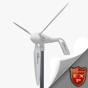 3d model of wind turbine