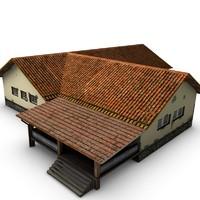 - house 3d 3ds
