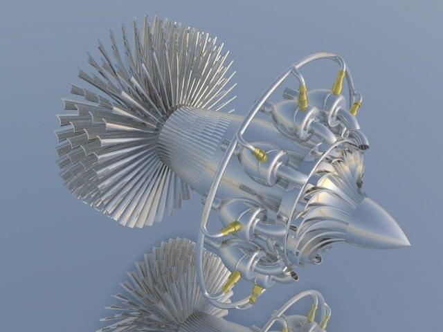 3dm internals jet engine
