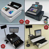 cash registers 3d 3ds