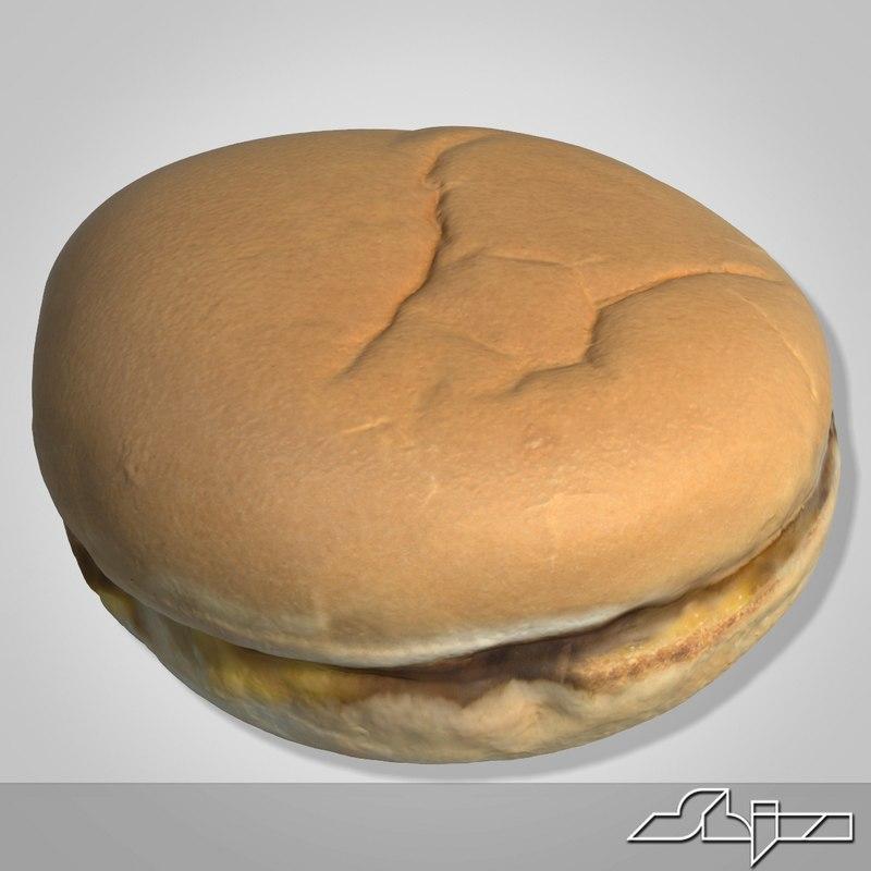 max mcdonalds cheeseburger