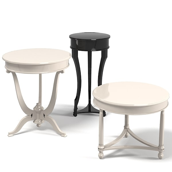 elledue pedestal coffee 3d 3ds