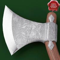 medieval axe v7 3d model