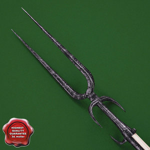 maya medieval spear v2