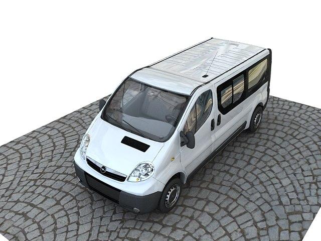 opel vivaro 3d model