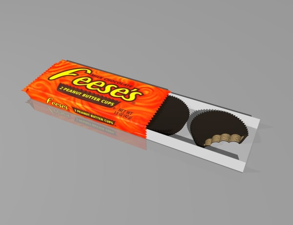 dxf chocolate peanut butter cups