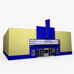 obj movie theater