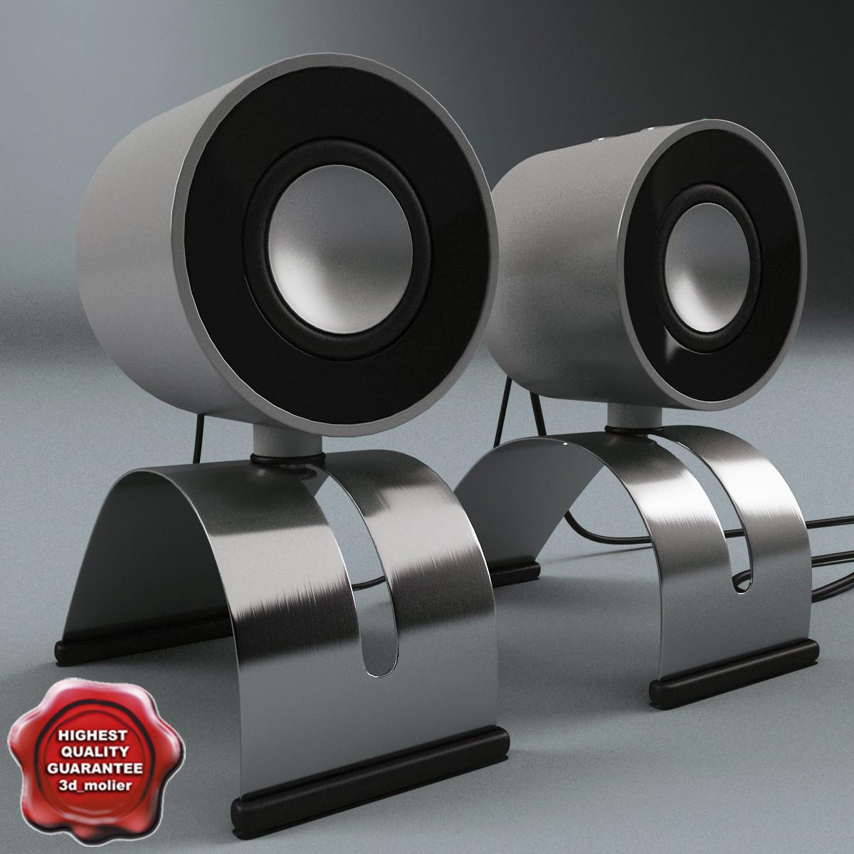 3d model usb pc acoustic