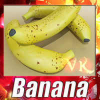 Banana + High Resolution Textures