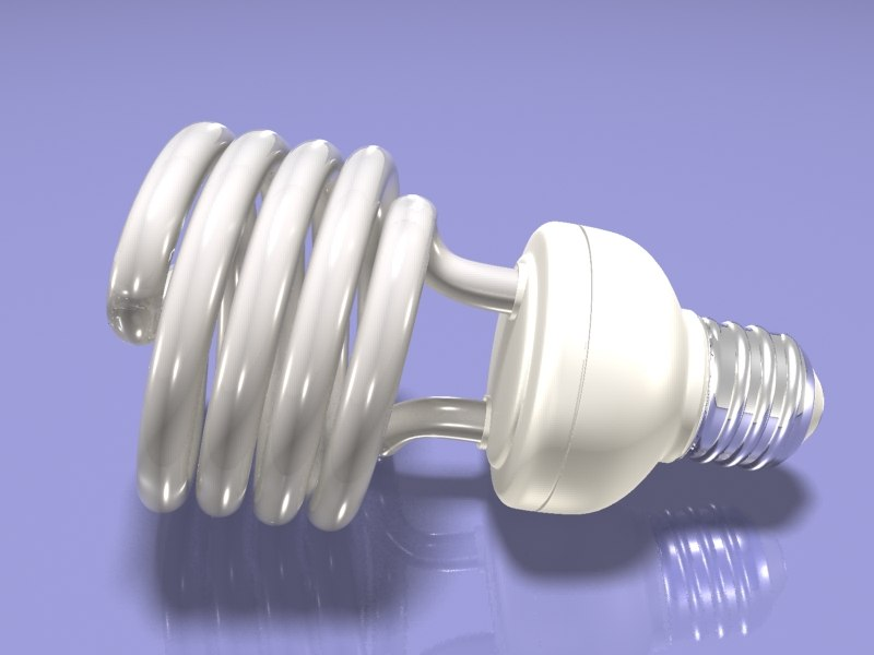 3d compact lamp lighting