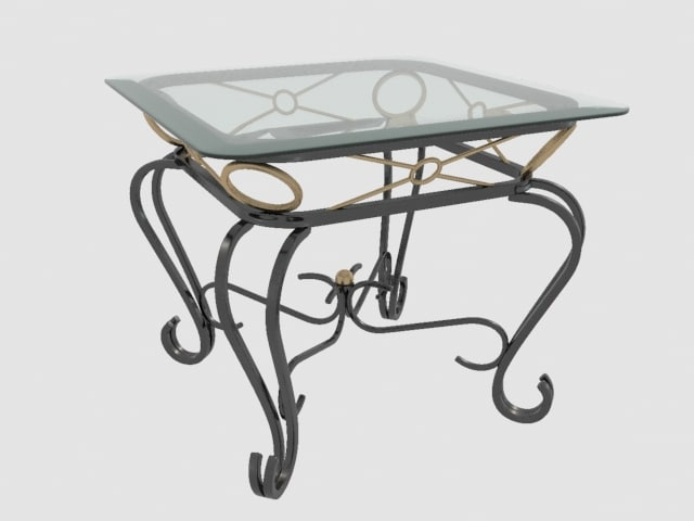 end table 3d 3ds