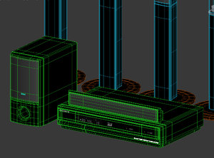 3d model theater systems