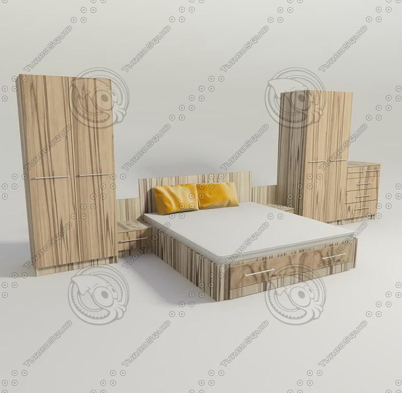 3d bed pillow mattress