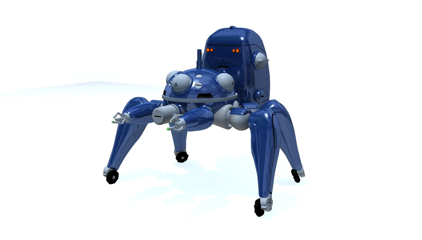3ds max tachikoma ghost stand
