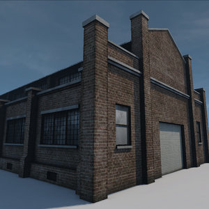 3d old warehouse
