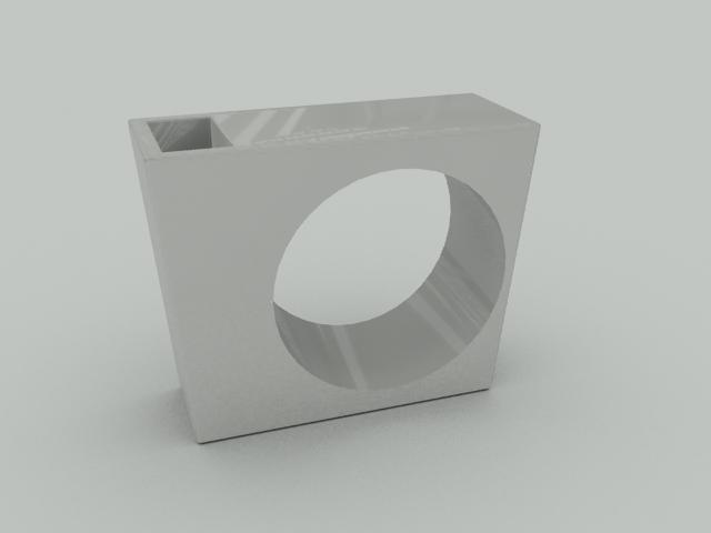 free ultra modern indoor vase 3d model