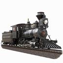Locomotive ; Baldwin 2-8-0 Anglo Saxon #42, 1879